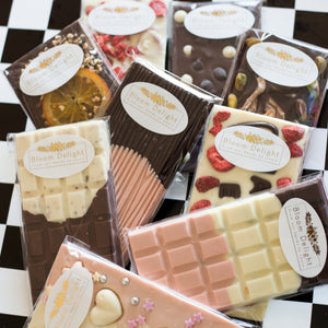 bloom delight free UK delivery gourmet chocolate occasions