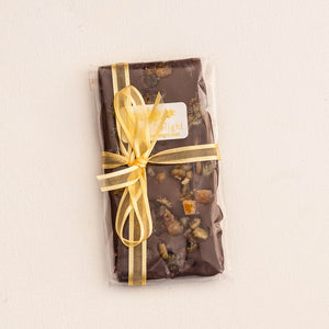 bloom delight semi dark chocolate with orange peel