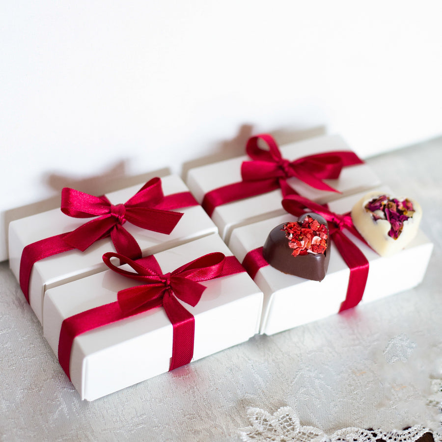 Artisan chocolate luxury wedding favours