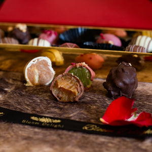 Romantic Luxury Handmade Chocolate Truffles Box