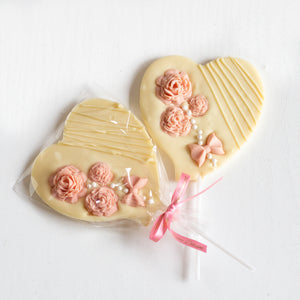 Belgian chocolate artisan party favours wedding bride