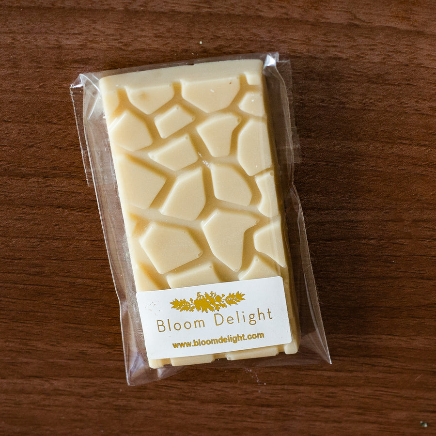 vegan sugar free white chocolate bar