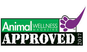Animal Wellness Magazine stamp of approval