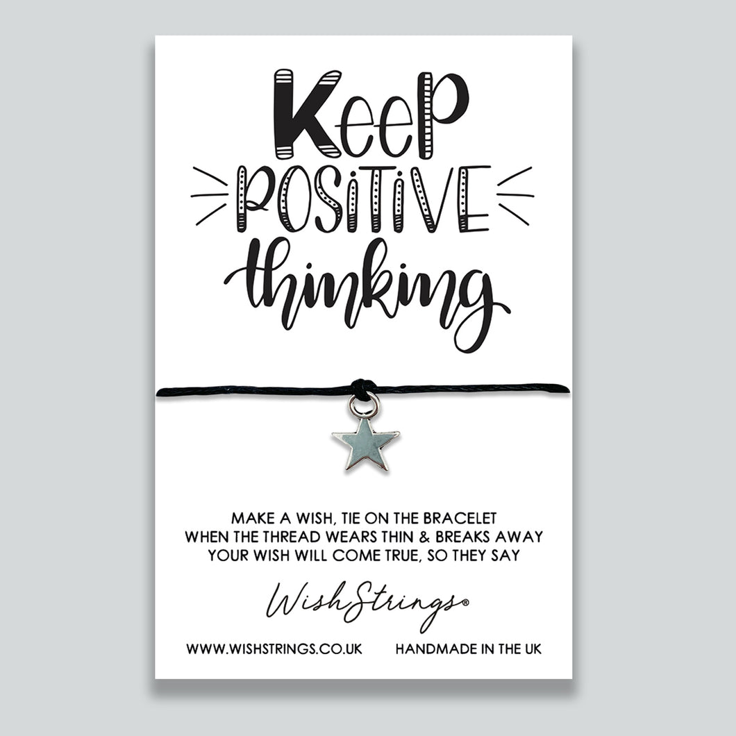 KEEP POSITIVE THINKING - WishStrings - WS258