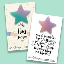Load image into Gallery viewer, STAR (GLITTER RESIN) KEEPSAKE TOKEN - CHOOSE QUOTE