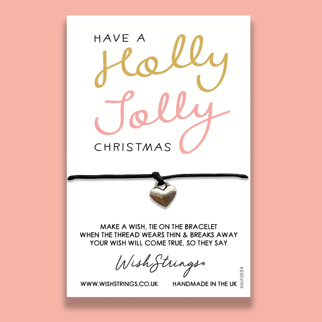 HOLLY JOLLY  CHRISTMAS - WishStrings - XMAS034