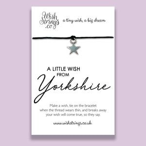 YORKSHIRE - WishStrings Wish Bracelet - WS170