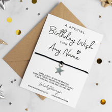 Load image into Gallery viewer, BIRTHDAY WISHES - PERSONALISED WISHSTRING