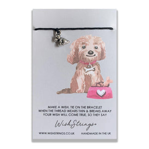 FELIX THE DOG - WishStrings Wish Bracelet - WS027