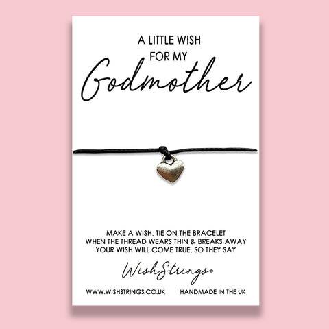 LittleWish GODMOTHER  - WishStrings Wish Bracelet - WS089