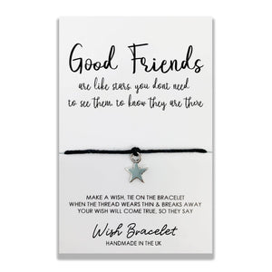 GOOD FRIENDS STARS - Wish Bracelet - DS004