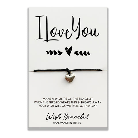 I Love You - Wish Bracelet - DS006
