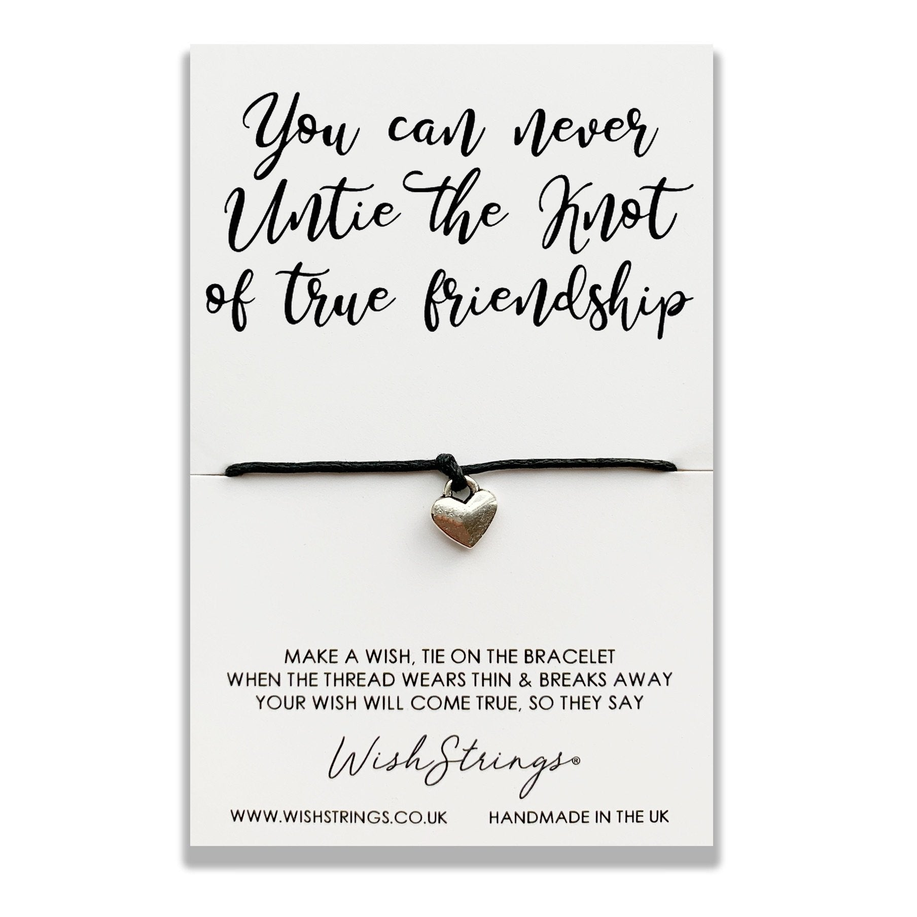 KNOT OF TRUE FRIENDSHIP - WishStrings - WS276