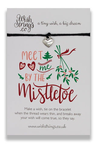 MISTLETOE - WishStrings Wish Bracelet - C009