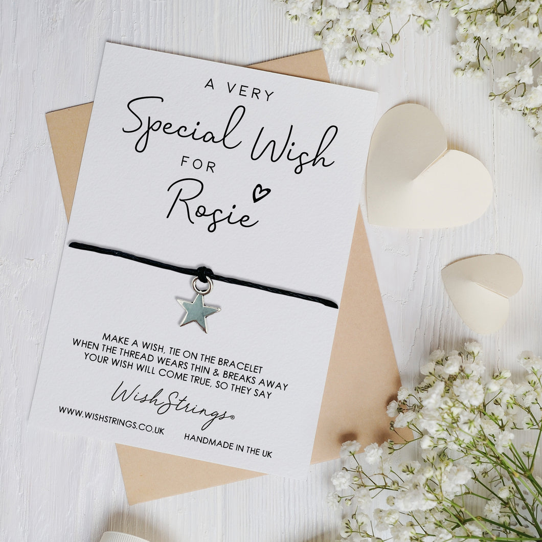 SPECIAL WISH - PERSONALISED WISHSTRING