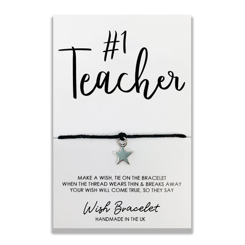 TEACHER - Wish Bracelet - DS0012