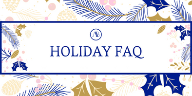HOLIDAY FAQ