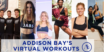Addison Bay Virtual Instagram Workouts Week of March 23rd ♥