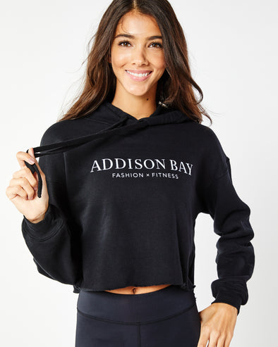 Addison Bay Cropped Hoodie