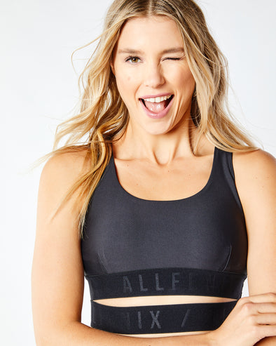 Running Back Sports Bra
