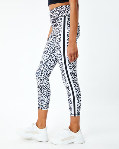 White Leopard Legging