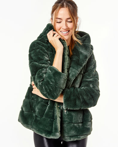 Goldie Fur Jacket