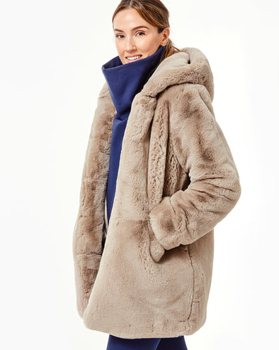 Maria Hooded Coat