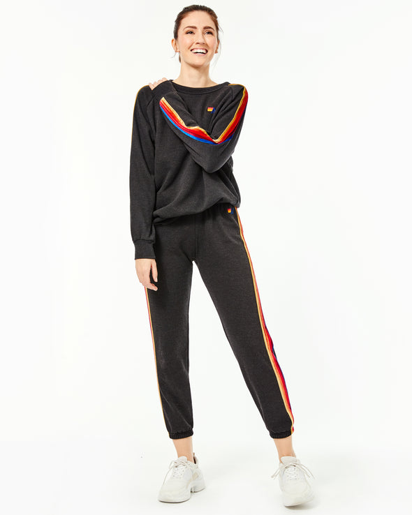 Classic Velvet Stripe Sweats