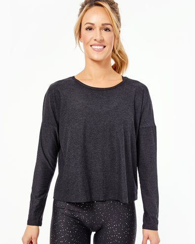 Morning Light Cropped Pullover