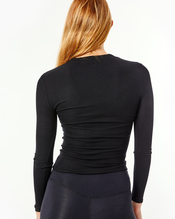 Invisible Zip Long Sleeve