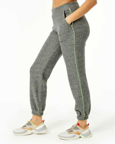 Neon Piped Jogger