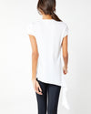 High Low Drape Tee