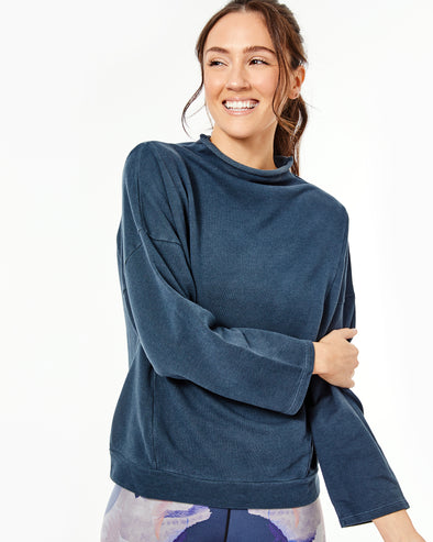 Draped Pullover