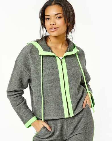 Pursuit Neon Blocked Hoodie