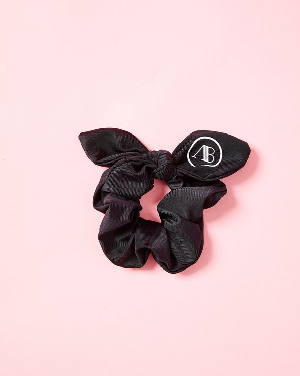 Black AB Scrunchie