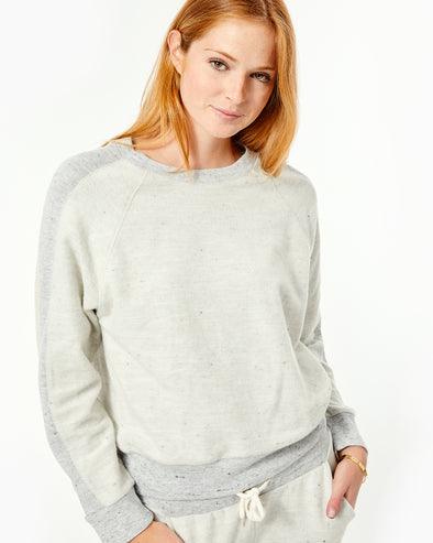 Reversed Neps Raglan Sweatshirt