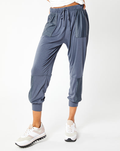Mesh Pocket Sweatpant