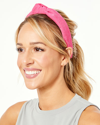 Ribbed Cotton Knotted Headband