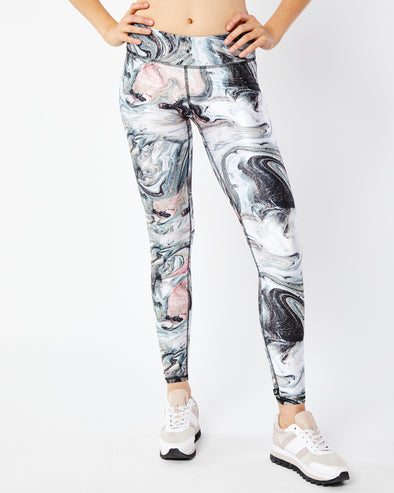 Metallic Marble Legging