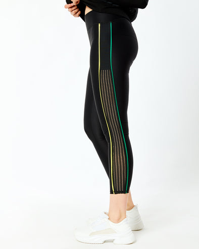 Mesh Insert Piping Legging