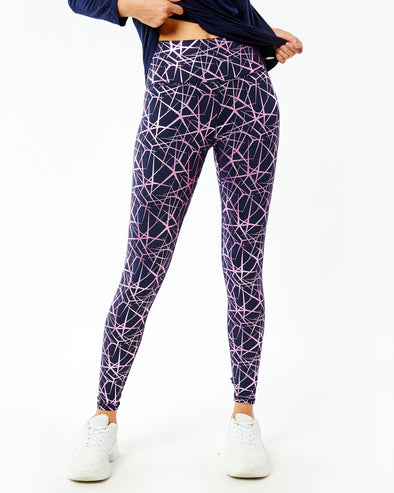 Foil Printed High Band Legging