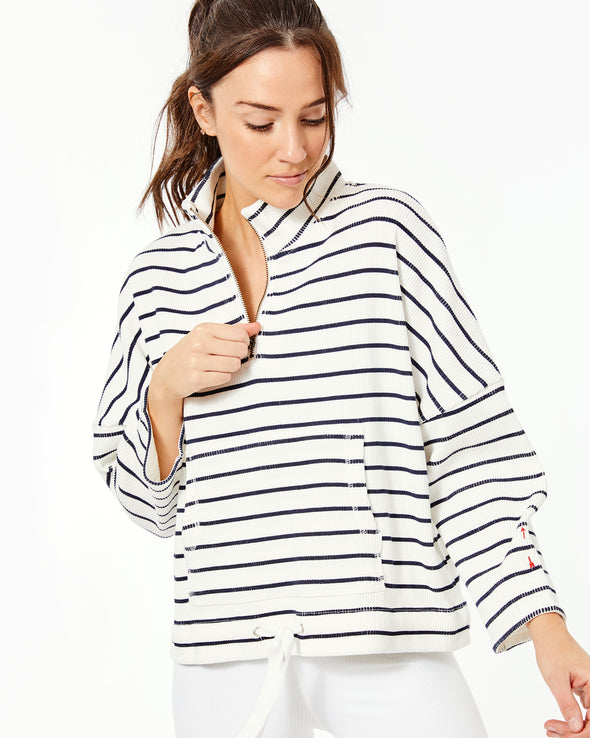 Tiena Quarter Zip Top