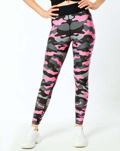 Ultra High Neon Camo Legging