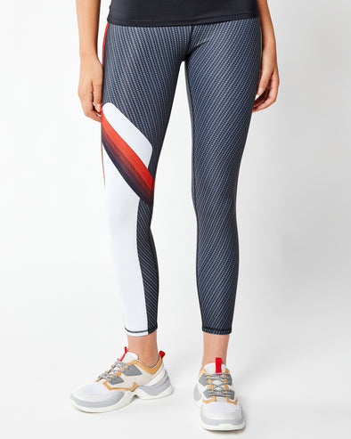 Side Stripe High Waisted Legging