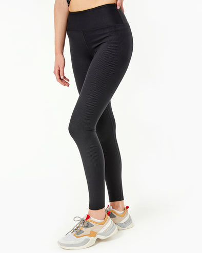 Ribbed High High Legging