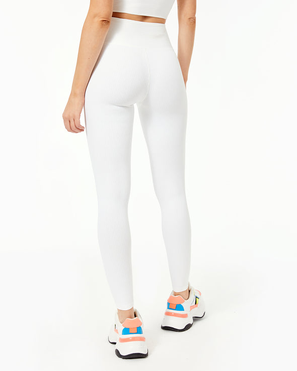 Ribbed High Legging