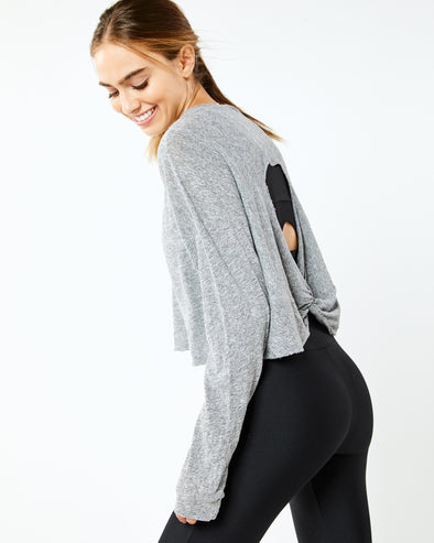Twist Back Pullover