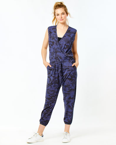 Camo Wrap Jumpsuit