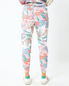 Floral Tapered Sweats