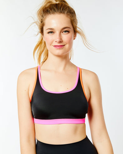 Triple Threat Strappy Bra